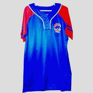 Chicago Cubs girls baseball tee size XL 14-16